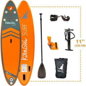 STAND UP PADDLE KANGUI Pack Paddle Gonflable BALI 335cm