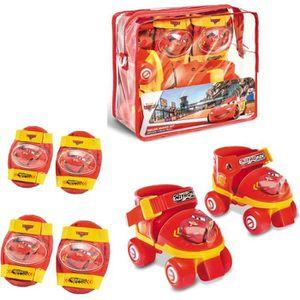 PATIN - QUAD CARS Rollers Réglables et protections (taille 22 à