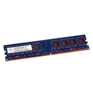 MÉMOIRE RAM 1Go RAM NANYA NT1GT64U8HB0BY-25D 240-Pin DIMM DDR2