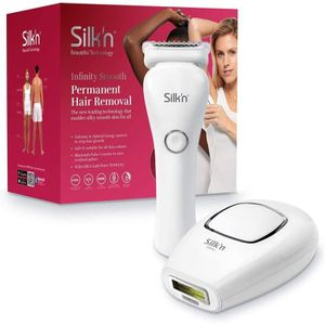 LUMIERE PULSEE - LASER SILK'N Coffret Infinity Smooth Epilation définitiv