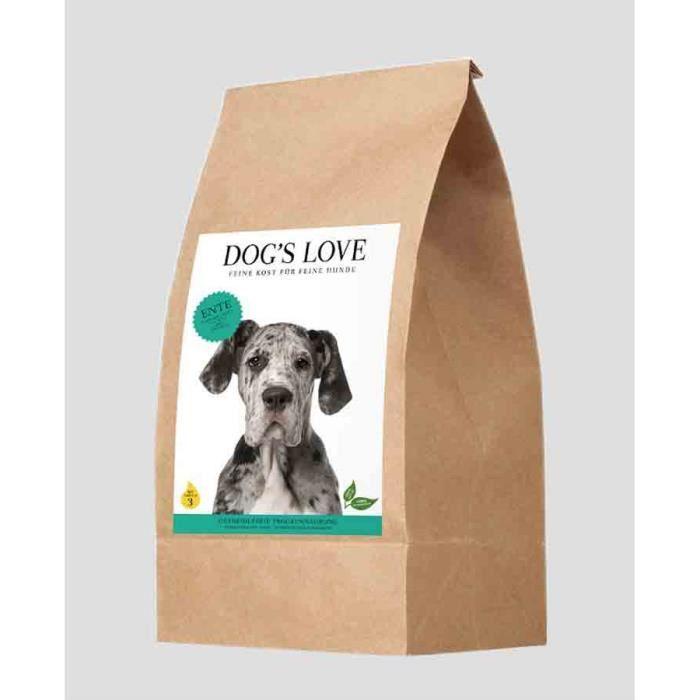 Dog's Love Croquettes Canard Sans Céréales Et Gluten 12 Kg
