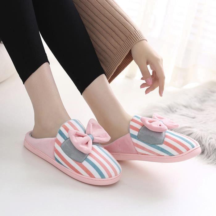 Sidneyki®Bottes d'hiver des femmes en peluche chaussures à lacets en plein air chaud cheville bottes de neige Orange XKO746 LNYYRIGuaj