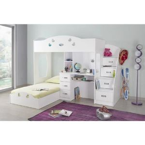 lit enfant combine bureau achat vente lit enfant. Black Bedroom Furniture Sets. Home Design Ideas