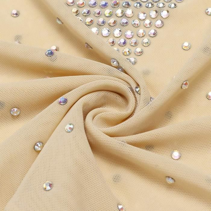 robe dos nunet voir à travers les vêtements