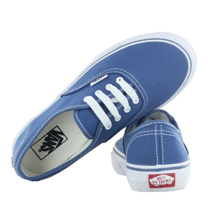 Chaussure Basse VANS Authentic Navy Homme Pointure 37