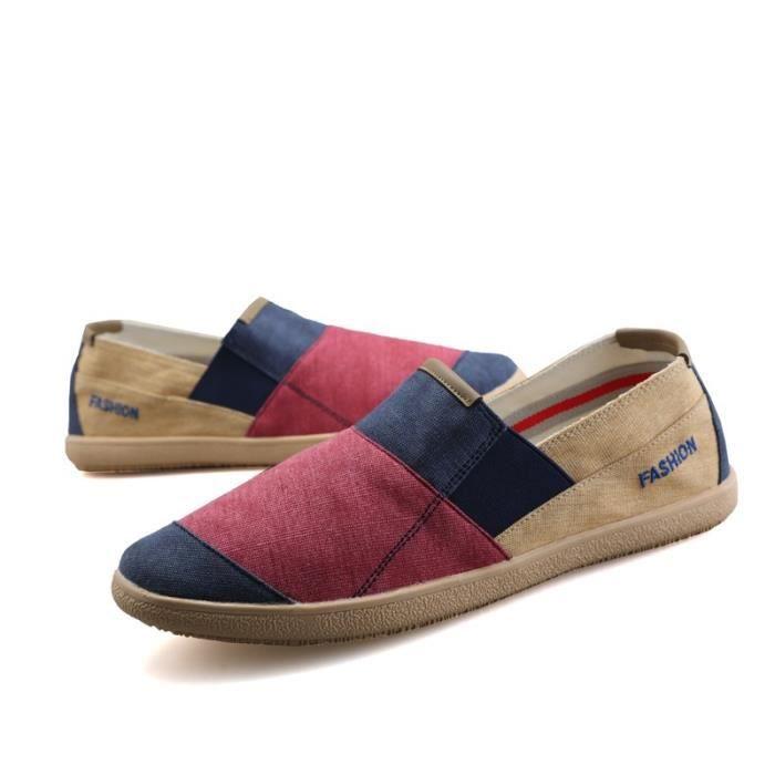 Chaussures Casual Printemps - Automne Mocassins style britannique Chaussures Respirant hommes
