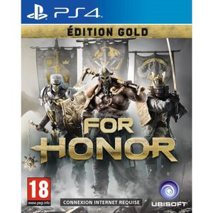 JEU PS4 For Honor Edition Gold Jeu PS4
