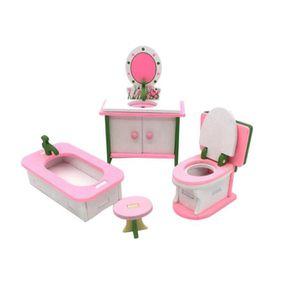 MAISON POUPÉE Jeu de meubles de maison de poupée miniature jouet