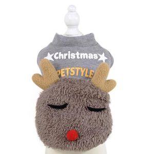 af62f52564cc5 KIT VÊTEMENT Animaux chiot Vêtements de Noël Nouvel An Décorati