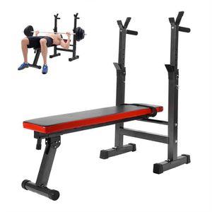 BANC DE MUSCULATION Banc de Musculation Fitness Abdominaux Pliable