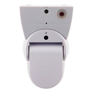 COMMANDE ECLAIRAGE Détecteur de mouvements extraplat orientable Blanc