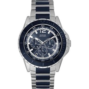 e68542ea9c2c MONTRE Montre Homme Guess Iconic W0478G2 Bracelet métal b