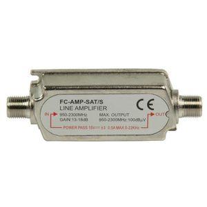 REPETEUR DE SIGNAL Amplificateur satellite KONIG 13 à 18 db / SAT