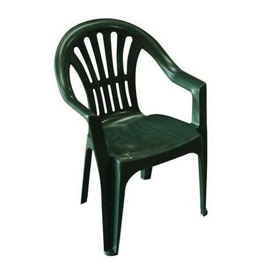Lot 4 chaises jardin en plastique vert ELBA - Achat / Vente ...