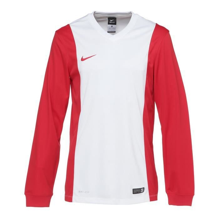 NIKE Maillot Manches longues Park Derby Homme Blanc