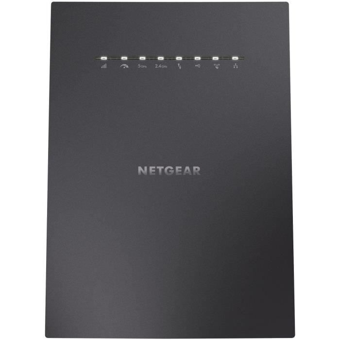 NETGEAR Répteur WiFi X6S Nighthawk AC3000 - 4 ports RJ45 Gigabit - Technologie MU-MIMO - Tri Band 2,4 et 5 GHz - Universel