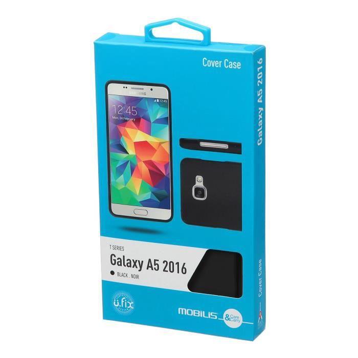 Mobilis Coque silicone pour Samsung Galaxy A5 - Noir
