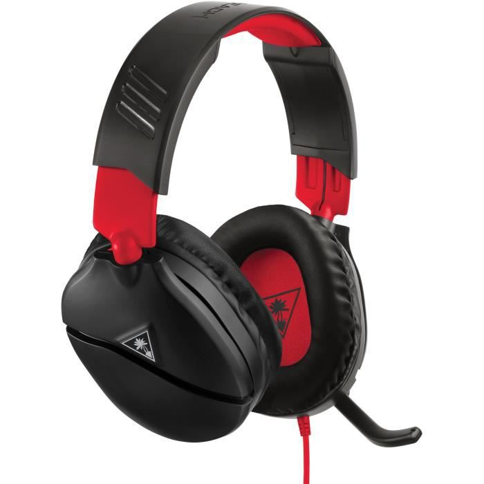 TURTLE BEACH Casque gamer Recon 70N pour Nintendo SWITCH (compatible PS4, PS4 Pro, Xbox one, Appareils mobiles) - TBS-8010-02