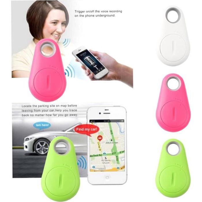 Puce Bluetooth 4.0 Traceur Localisateur Gps Tag Alarme Wallet Key Pet Dog Finder