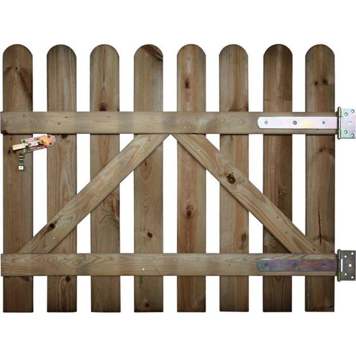 Portillon coquelicot ht 80 cm achat vente portail for Portillon largeur 80 cm