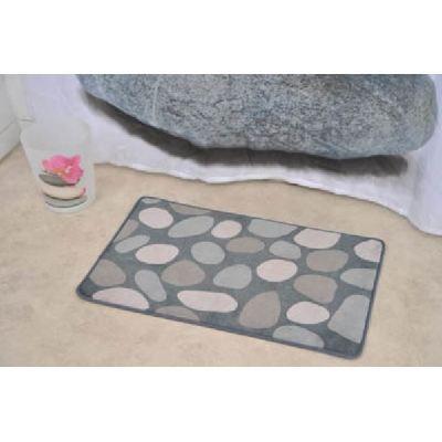 tapis salle de bain galet achat vente tapis de bain. Black Bedroom Furniture Sets. Home Design Ideas