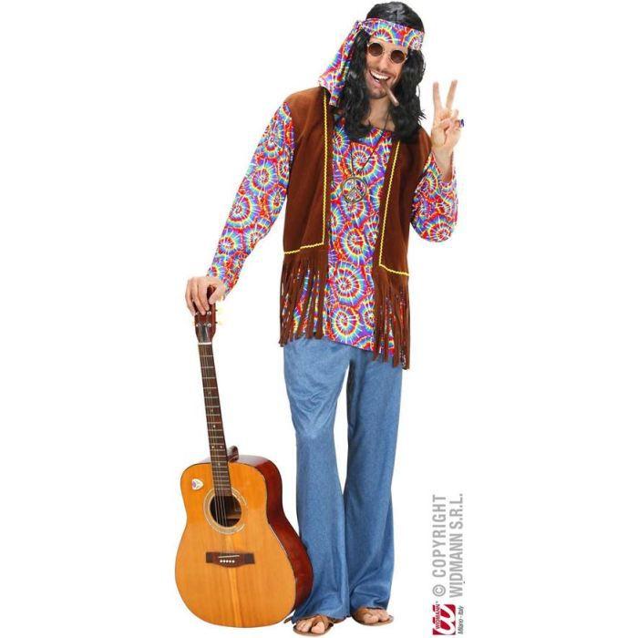 déguisement hippie homme xl - achat / vente déguisement - panoplie