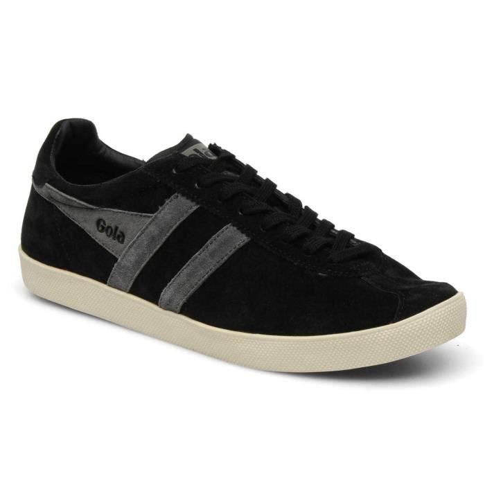 Chaussure Baskets basses Gola Trainer Suede Black Anthracite Homme Pointure 43