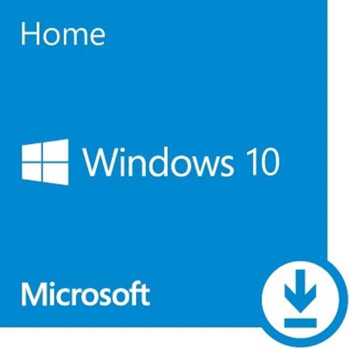 BUREAUTIQUE À TÉLÉCHARGER Windows 10 Home OEM 32-64 bit à télécharger