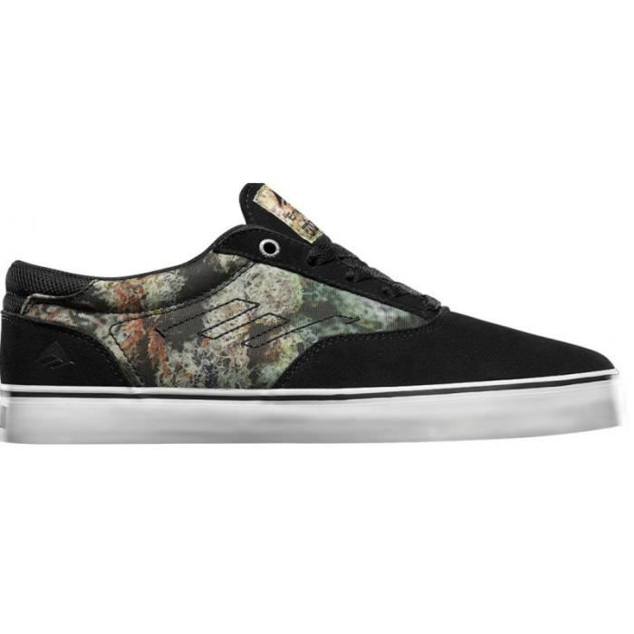 CHAUSSURES EMERICA THE PROVOST BLACK PRINT skateshoes