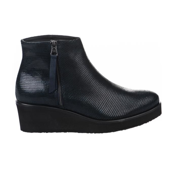 Boots femme - GAIMO - Bleu marine - 1192 - Millim