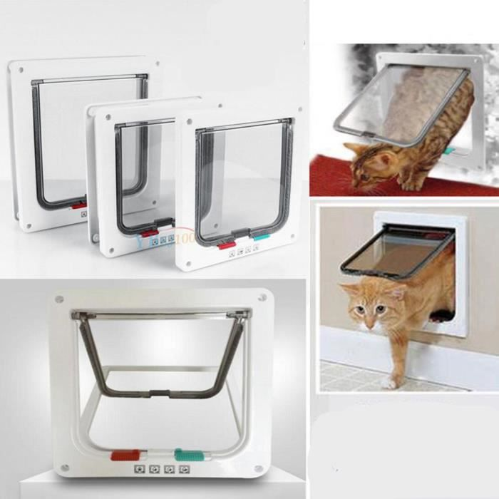 3 Taille Chatiere Smart-porte Pour Chat ——yuyuan Shop