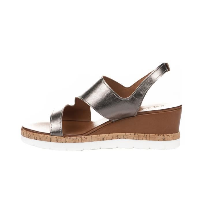 Nu pieds femme - INUOVO - Bronze - 7904 - Millim Rnq1WY