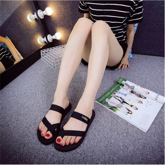 Pantoufles Qualité Femme Chaussure Marque Femmes Sandales Haut Antidérapant Poids été Plus Couleur De Léger D'été R54Lqc3jA