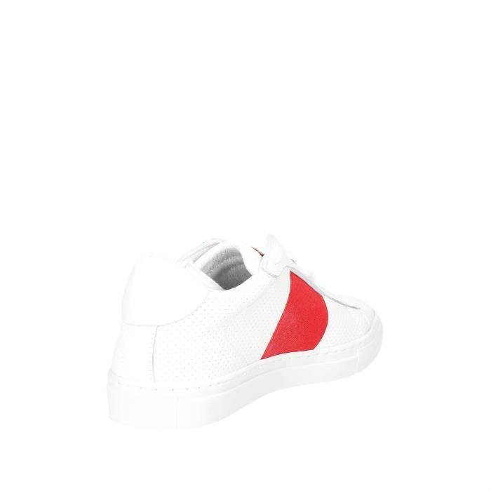 Sneakers Blanc Homme Rouge Nyon 43 dPwq8RRY