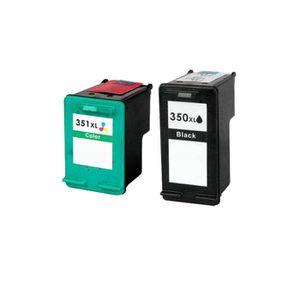 CARTOUCHE IMPRIMANTE 2 Compatible Encre Cartouche pour HP 350 351 Photo