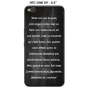 COQUE - BUMPER Coque HTC HTC ONE X9 - 5.5