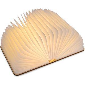 LAMPE A POSER mini Lampe en bois Pliable LED Livre Lumière Recha