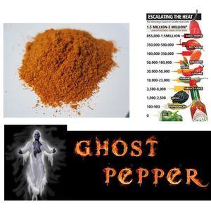 SAUCE EXOTIQUE - PIMENT 10g piment bhut jolokia ghost pepper en poudre le