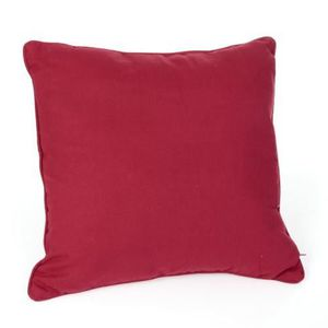 COUSSIN COUSSIN CARRE 45X45CM ROUGE