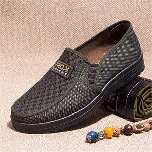 MOCASSIN Hommes chaussures décontractées D'été 2019 Respira
