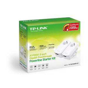 COURANT PORTEUR - CPL TP-LINK AV1000, Gigabit Ethernet, 10,100,1000 Mbit