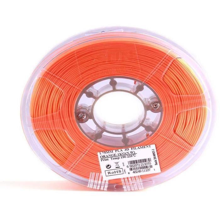 ESUN Filament pour Imprimante 3D ABS - Orange - 3 mm - 1kg