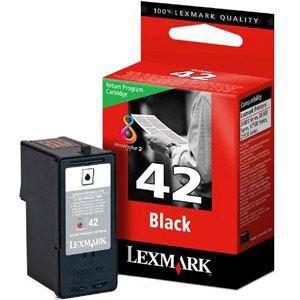 LEXMARK Cartouche d'encre - 42 - 270 pages - Pack de 1 - Noir