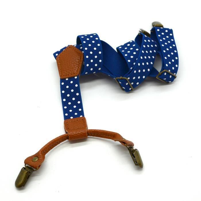 cac37b217c03d Enfants Bébés garçons de mariage assortis et bretelles Braces bretelles de  luxe Qt7930