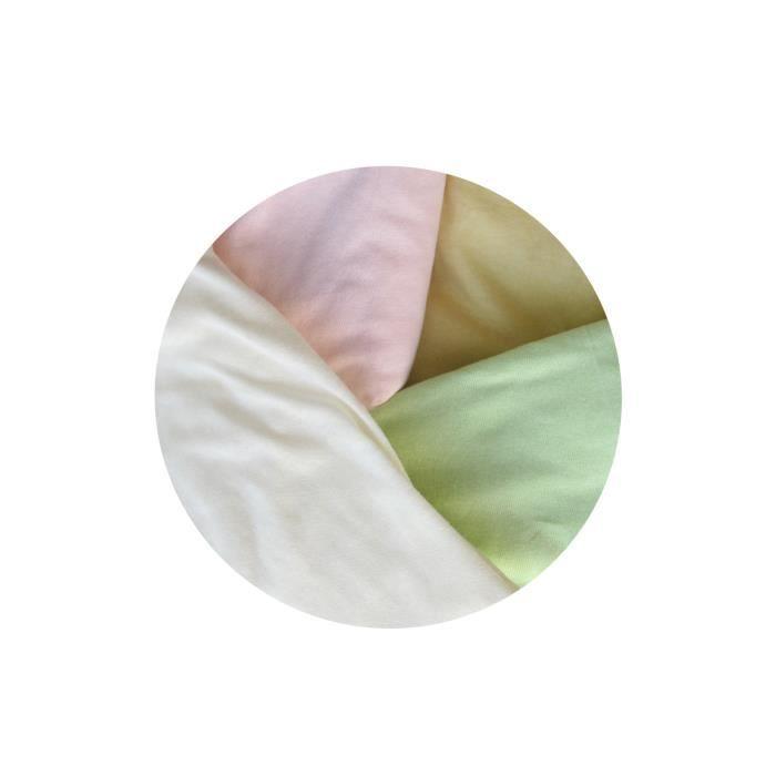 drap housse berceau 40 80 Lot de 4 draps housse pour berceau bébé 80 cm x 40 Blanc   Achat  drap housse berceau 40 80