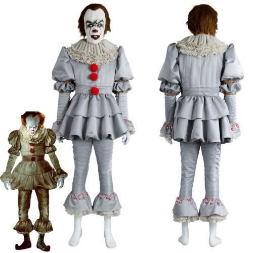 a film 2017 pennywise the clown costume d guisement femme. Black Bedroom Furniture Sets. Home Design Ideas
