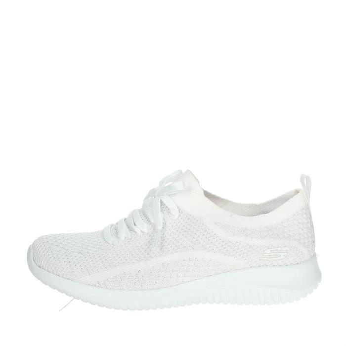 Skechers Petite Sneakers Femme Blanc, 37