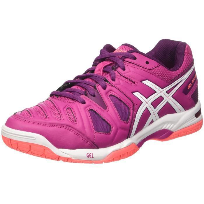 Asics gel jeu de femmes 5 chaussures de tennis, rose 3Y5PXU Taille 41