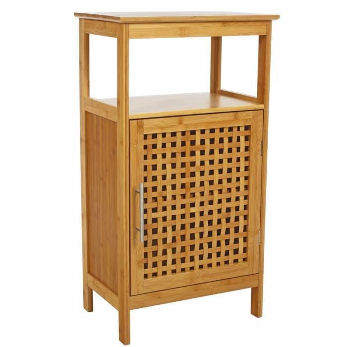Meuble salle de bain en bambou - Achat / Vente Meuble salle de ...
