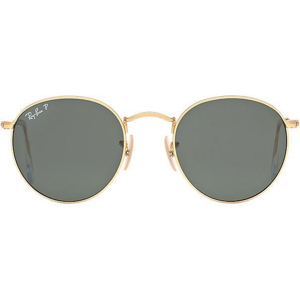 51bcfe8042fcd5 Lunettes de Soleil RAY-BAN Round Metal RB3447 112-58 MATTE GOLD T 50 ...